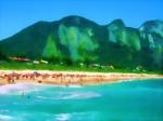 Travel in Brazil: RIO DE JANEIRO (44). Imaging Itacoatiara Beach, Niterói
